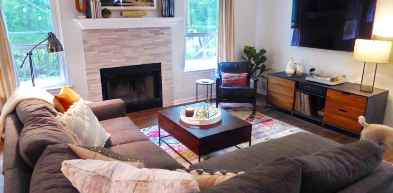 Living Room Reset